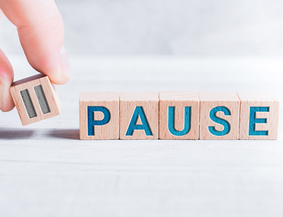 Putting the 'power of the pause' to work for you